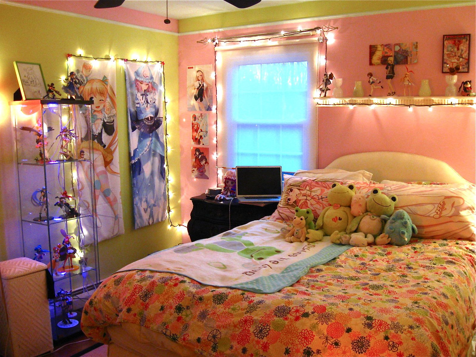 Japan Bedroom Decor Girly Anime Room I Like It But I Think I Can Do Better