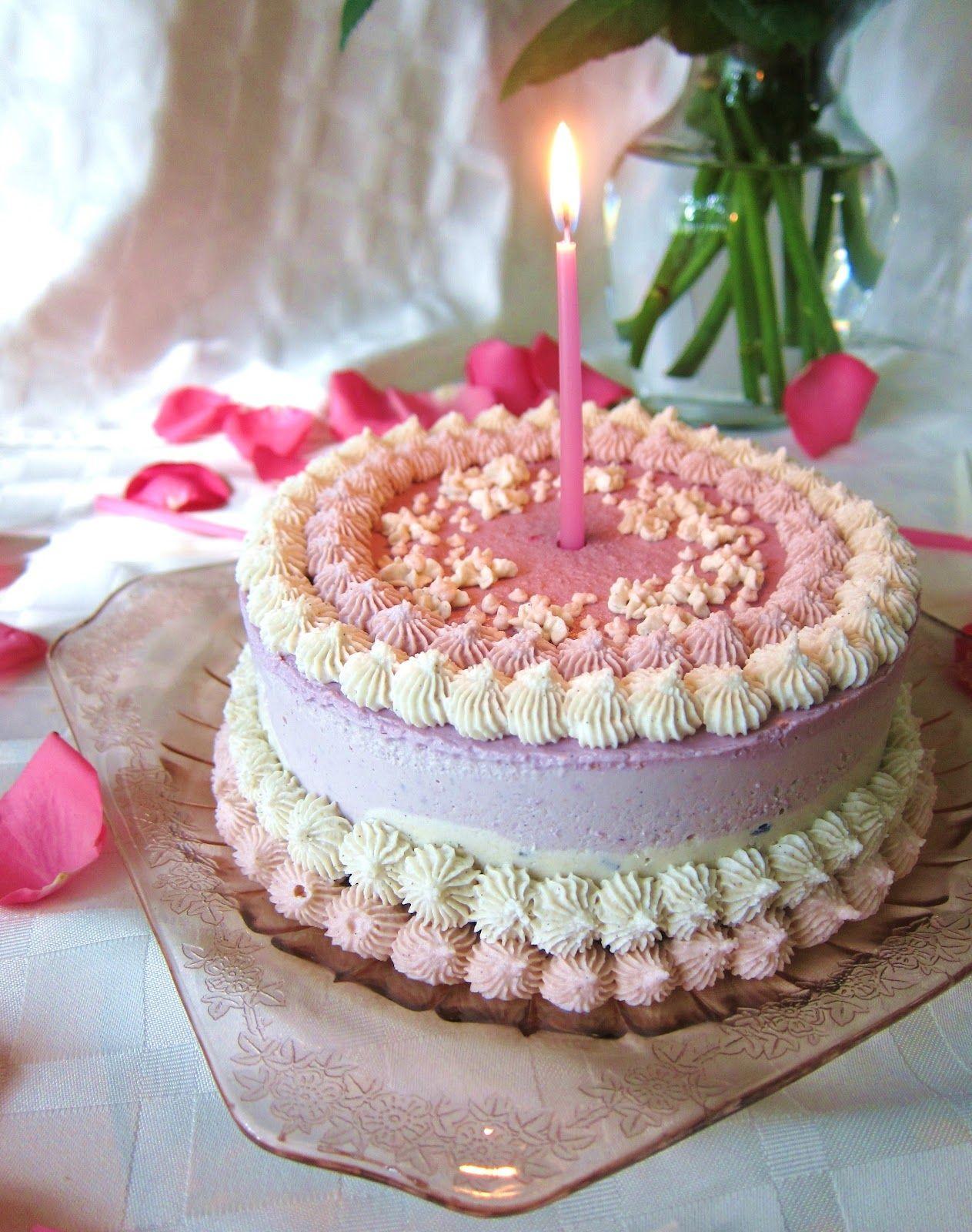 Most Fragrant Candles Beautiful Birthday Cakes Beautiful Birthday Cake