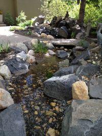 DIY backyard creek | Backyard ideas | Pinterest | Backyard ...