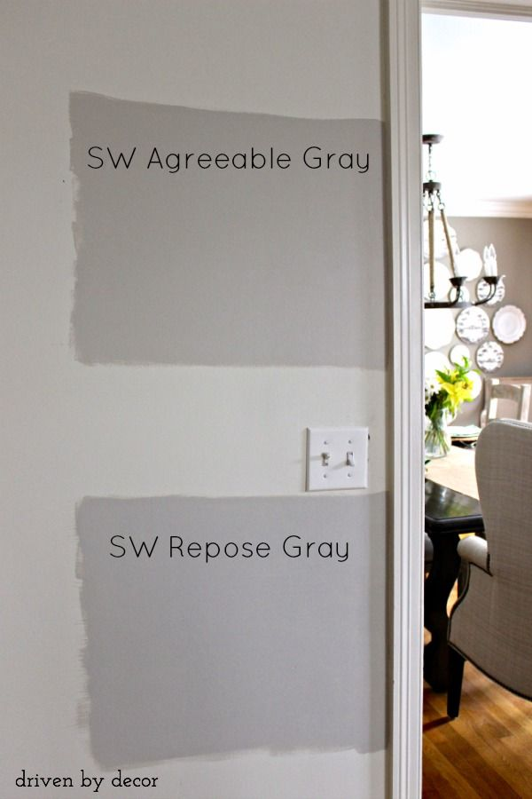 Sherwin Williams  The 10 Best Gray and Greige Paint Colours - mindful gray living room