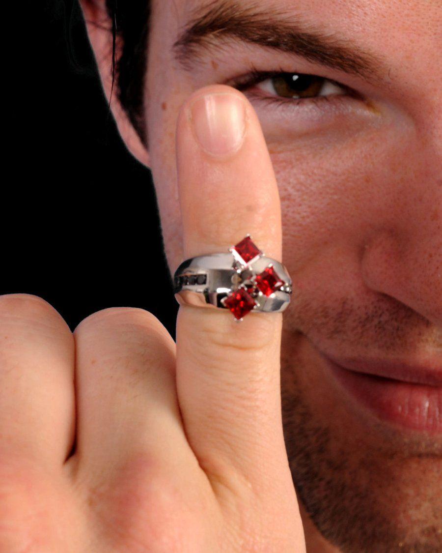 batman wedding ring Harley Quinn Engagement Ring by darkmoonchild deviantart com