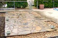 granite patio | Natural Stone Patio | granite | Pinterest ...