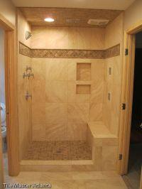 Travertine Tile for Bathroom Remodel - For more Walk In ...
