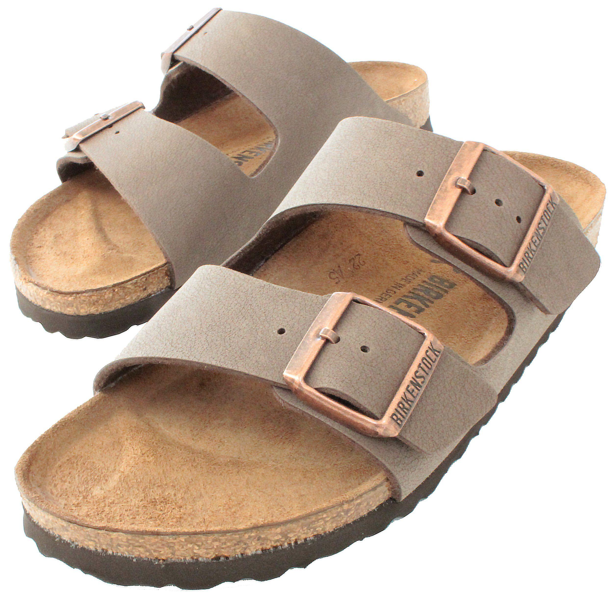 Birkenstock arizona mocha birko flor narrow fit women s sandals 6 6 5