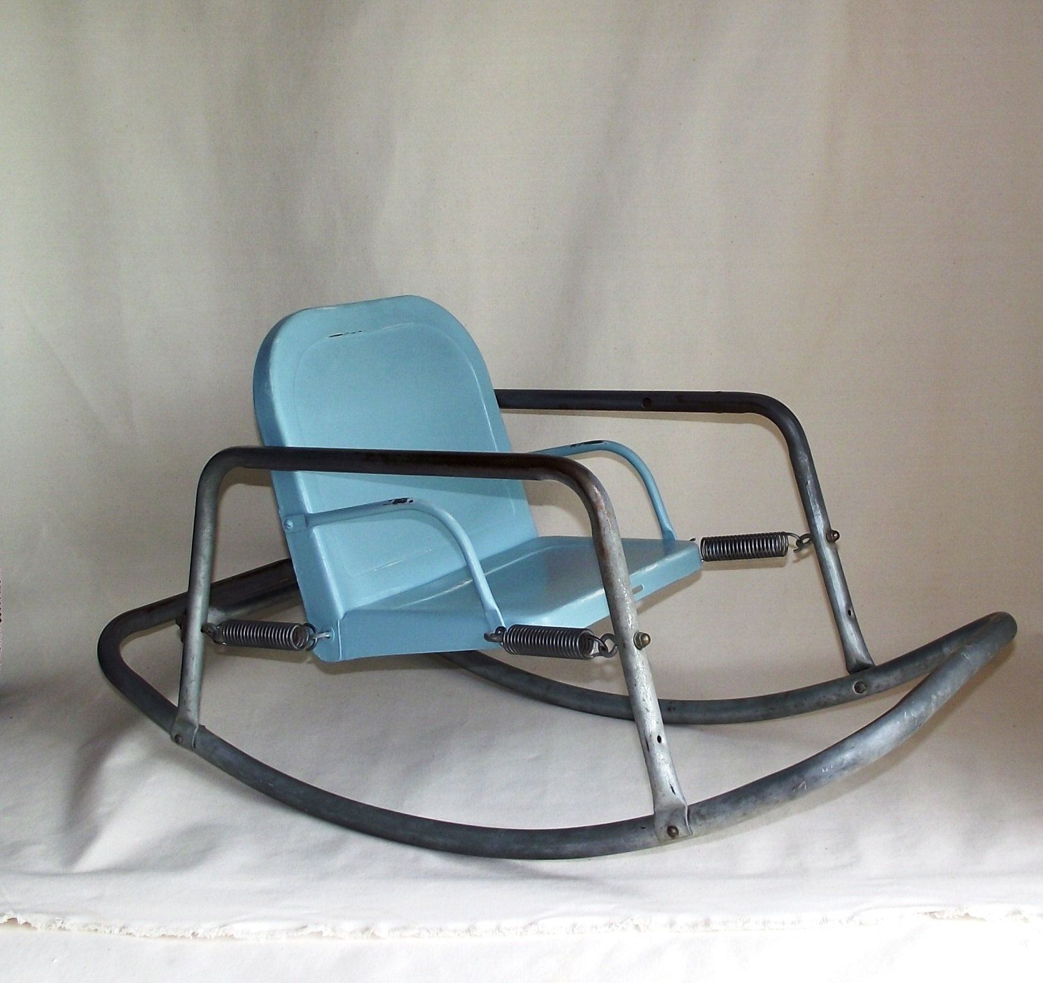 Modern Baby Rocking Chair Vintage Bouncy Baby Metal Rocking Chair Via Etsy Complete