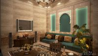 Moroccan Sitting Room on Behance | INTERIORS:Arabic ...