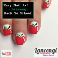 Easy Nail Art Designs For Beginners #6 - Back to School ...