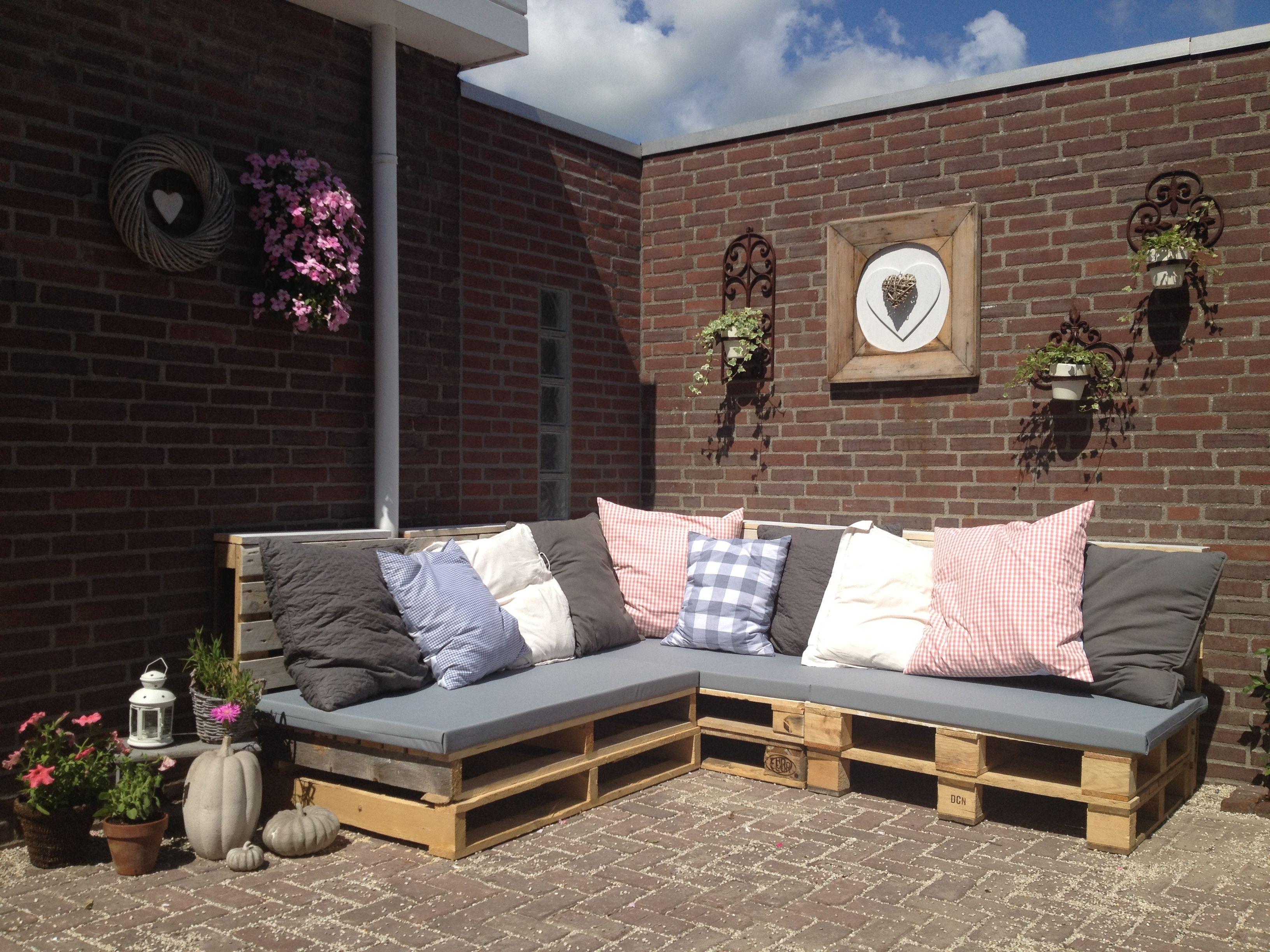 Goedkope Lounge Kussens : Balkon bank goedkoop authentiek van lounge kussens zelf maken foto