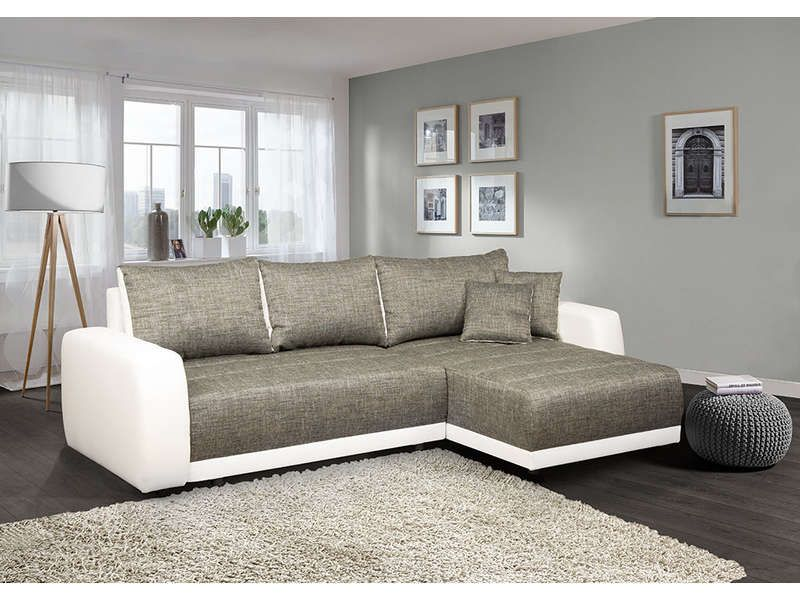 Sofa Star Conforama Canapé D'angle Convertible Et Réversible 5 Places Venus