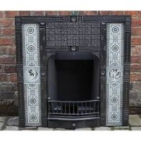 minton fireplace tiles - Google Search | Alandale Bungalow ...