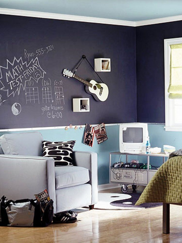 boys room ideas diy Image My boys would love drawing all over - painting ideas for bedrooms