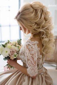 42 Half Up Half Down Wedding Hairstyles Ideas | Weddings ...