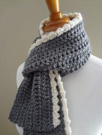 Crochet+Scarf+Pattern+Beginner