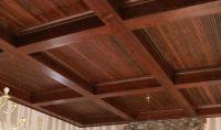 Wood Box Beam Ceiling | DIY | Pinterest | Wood boxes ...