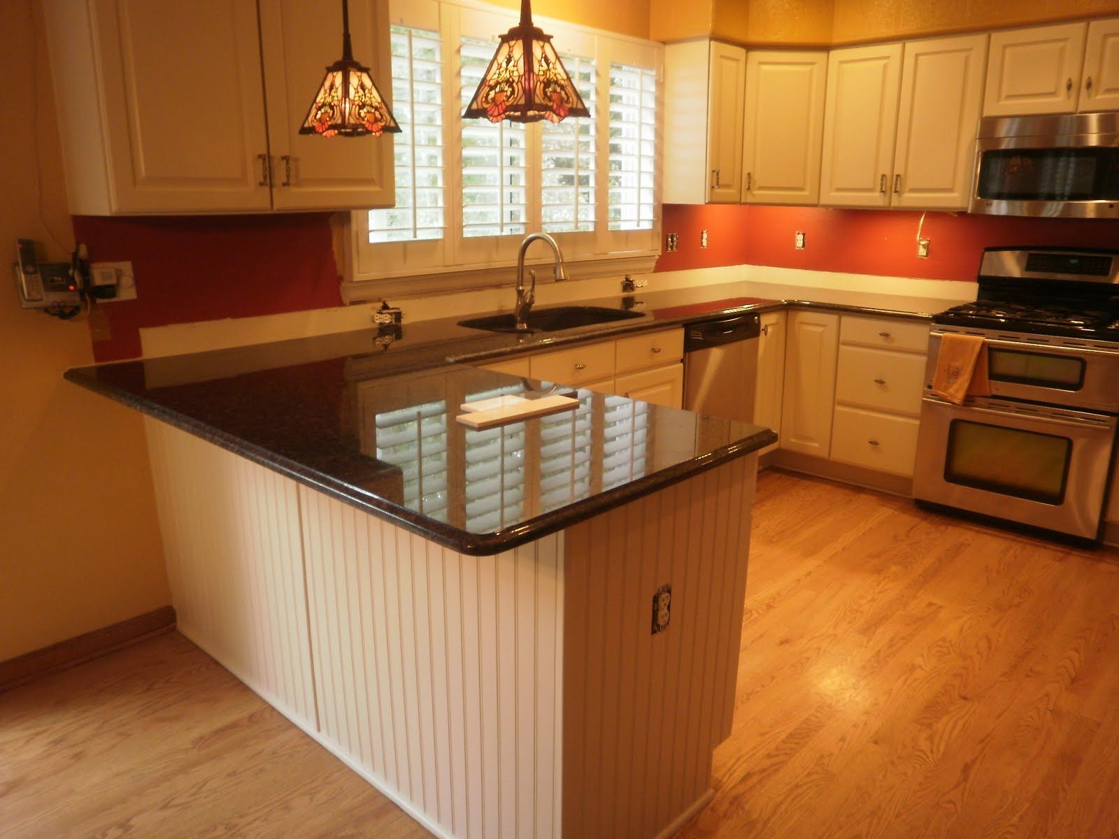 Kitchen Decorations For Countertops Beautiful White And Red Kitchen Design Ideas With Black