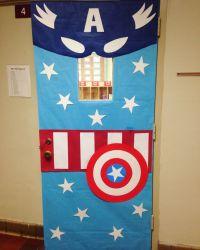 Captain America Classroom Door   For the Classroom ...