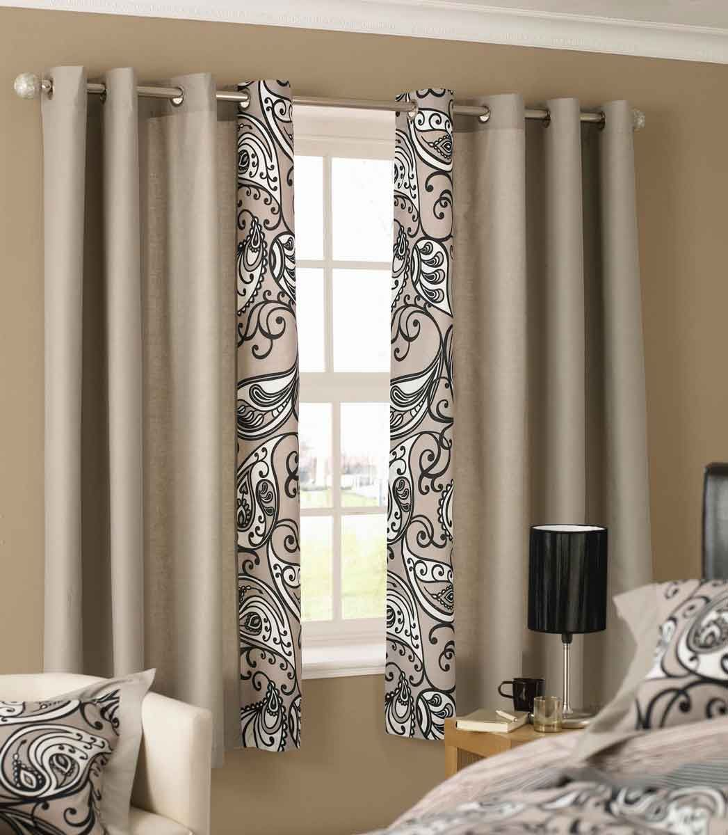 Bedrooms dress your windows in classy and timeless curtains