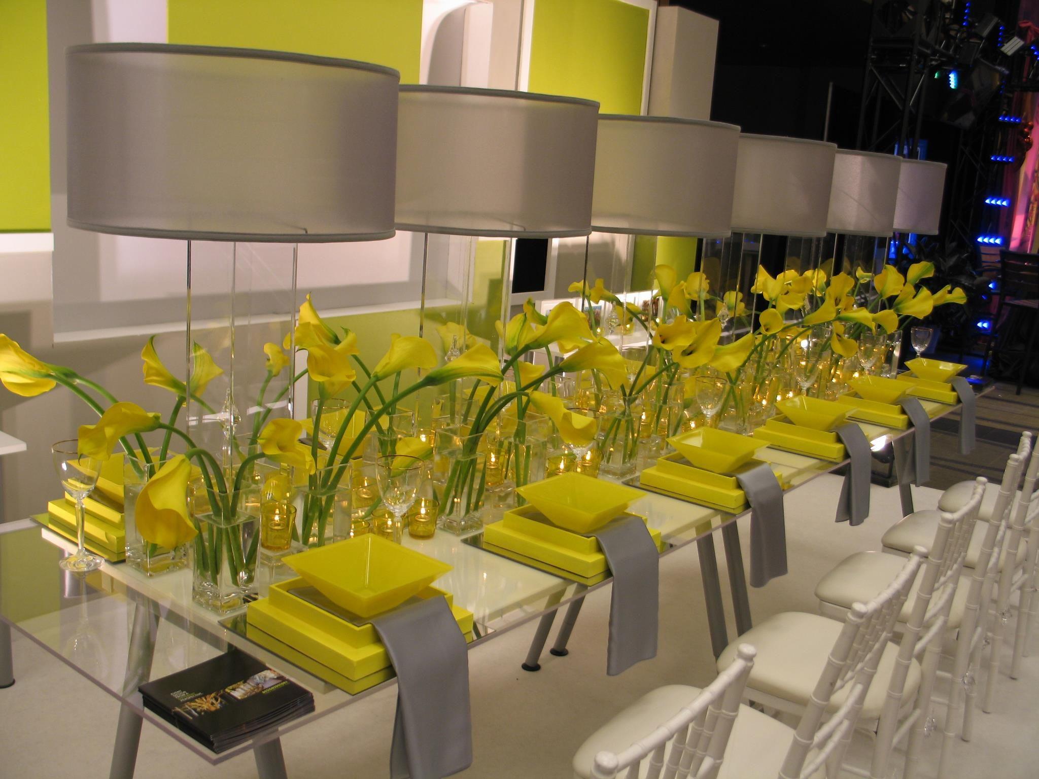 Decoration De Mariage Jaune Corporate Events