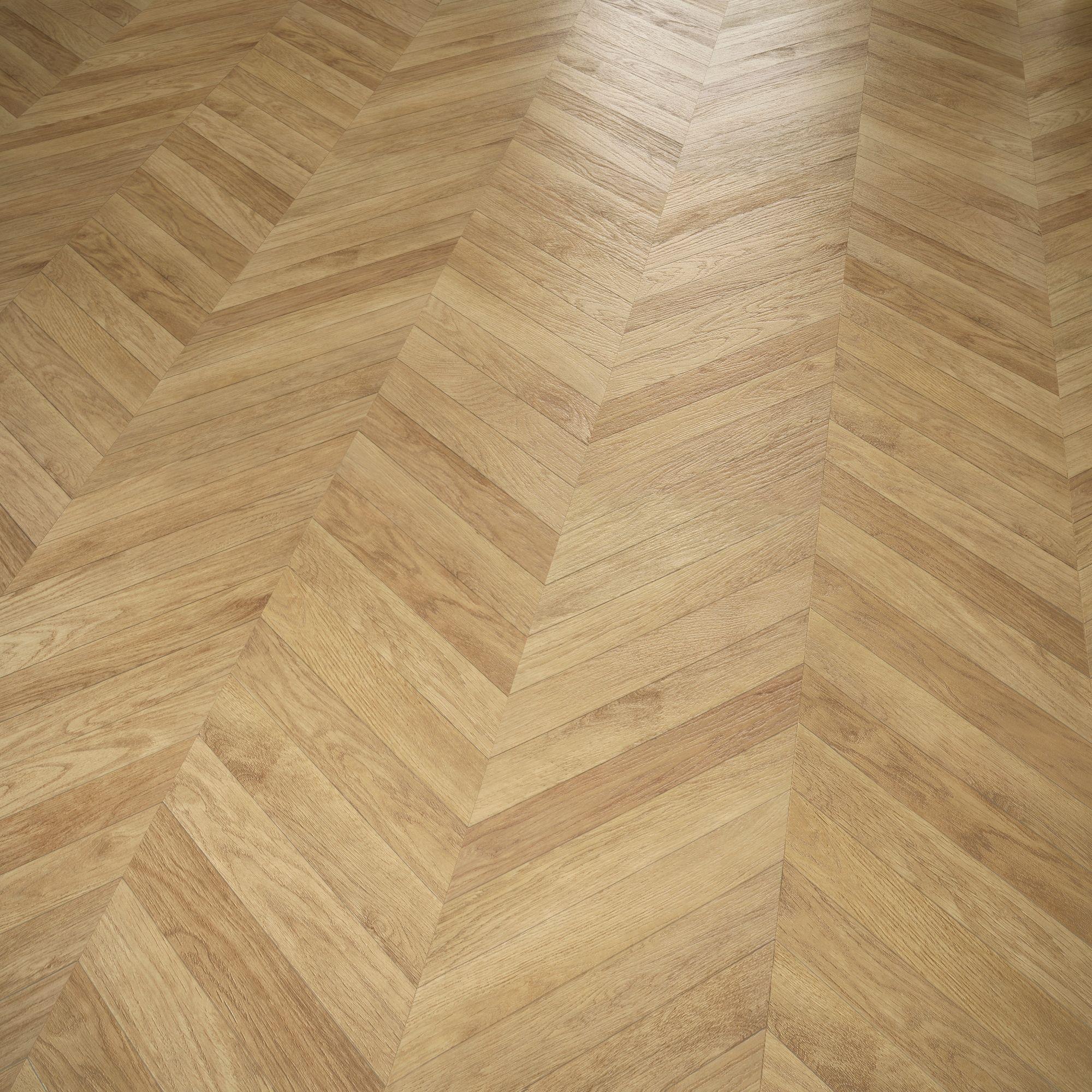 kitchen laminate flooring Colours Alessano Parquet Herringbone Oak Effect Laminate Flooring 1 39 m Departments DIY at B