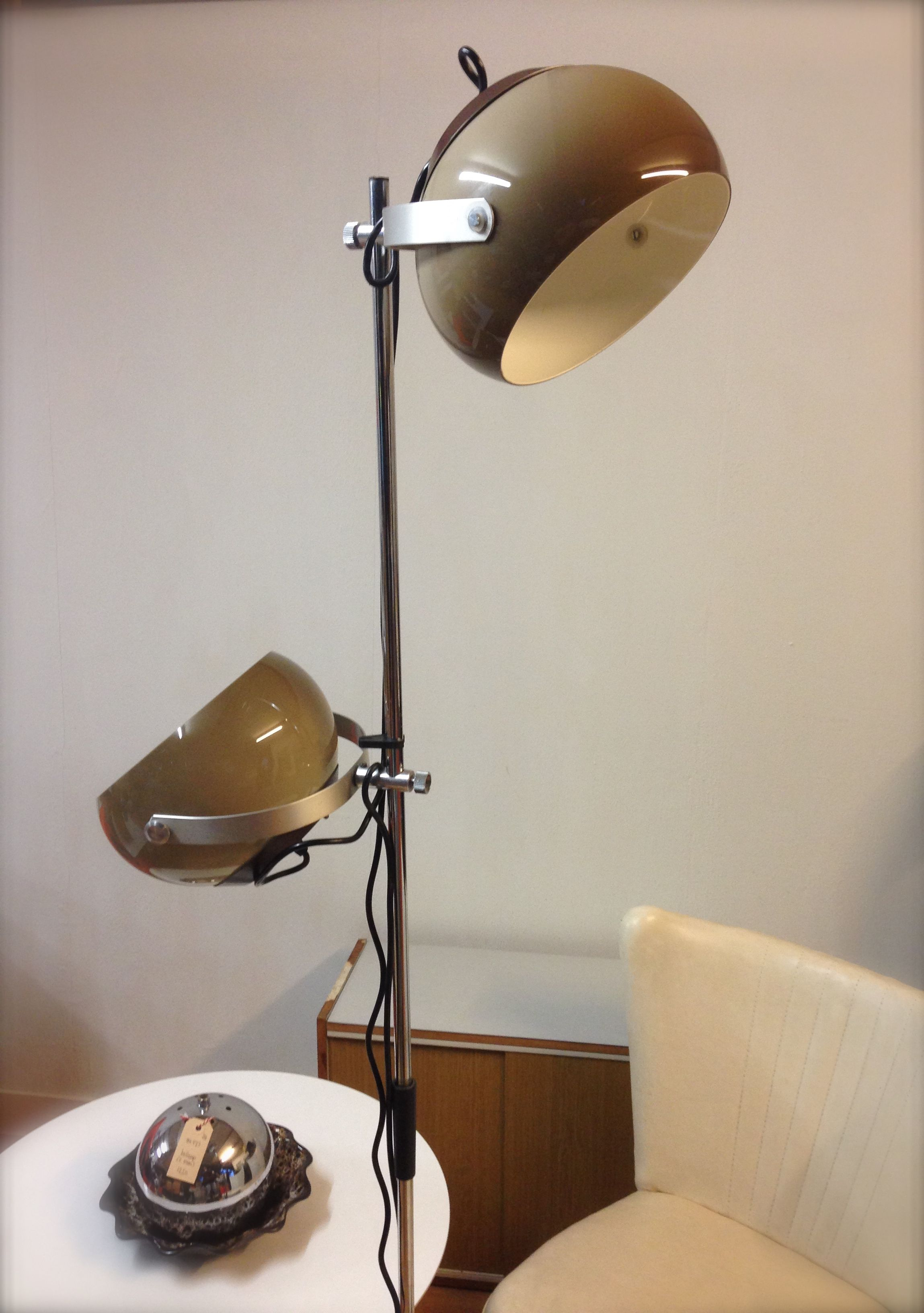 Staande Lamp Retro Staande Lamp Vloerlamp 70s Lamp Dutch Design Lamp