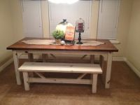 Fabulous Kitchen Table With Bench Decor Ideas   Bench ...