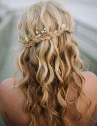 waterfall braids for weddings - Google Search | Wedding ...