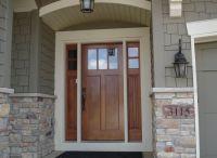 Exterior Doors | craftsman style front door with double ...