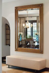 At Home with Kendra Scott   Bench, Foyers and Giant mirror
