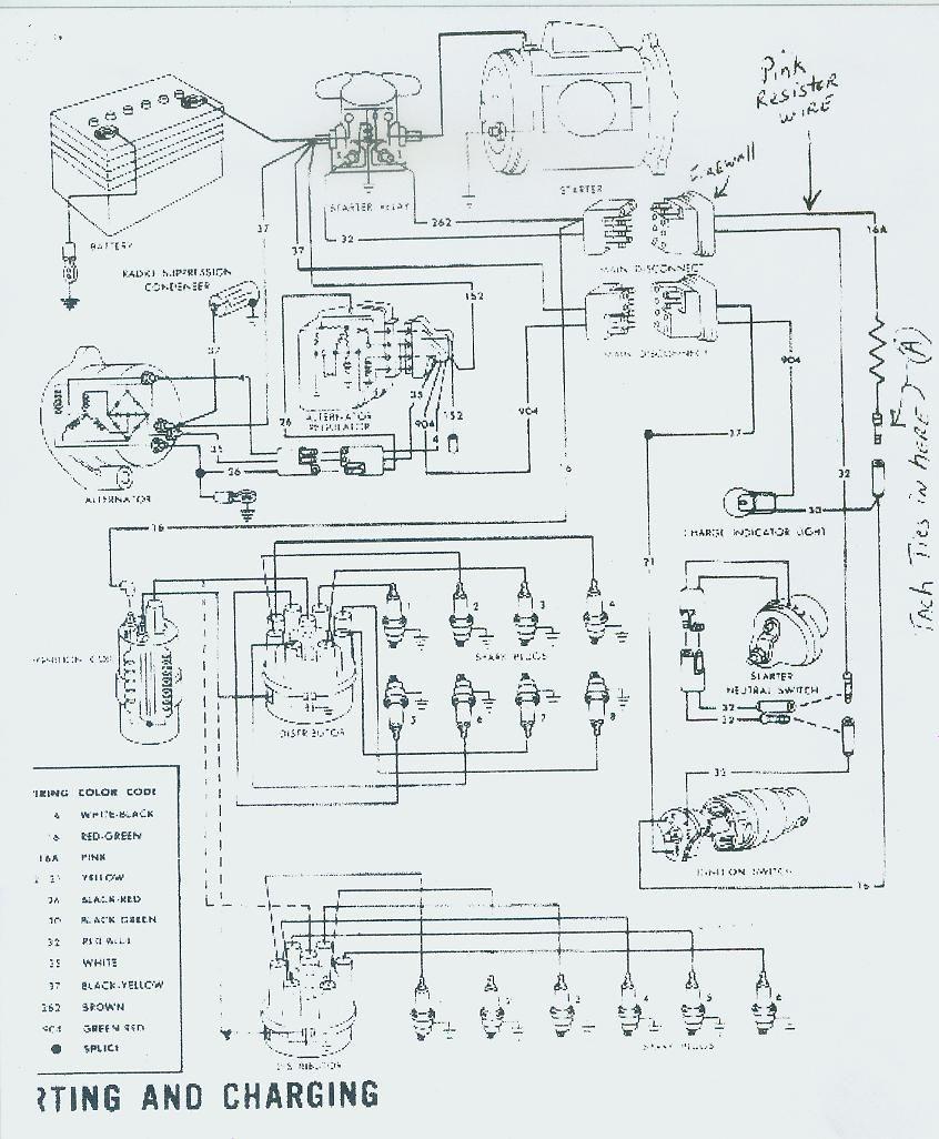 1968 mustang tach wiring