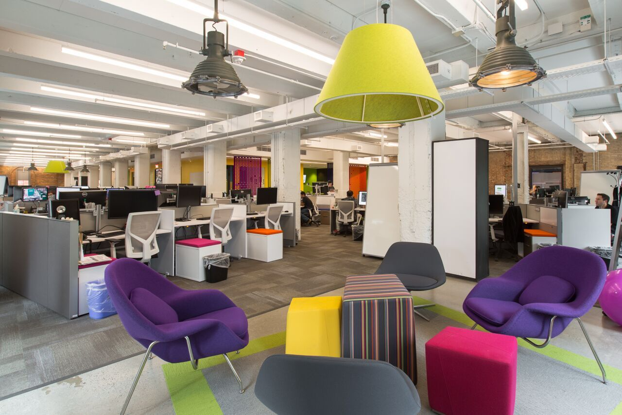 Creative Office Space Design. Cool Creative Spaces Retail