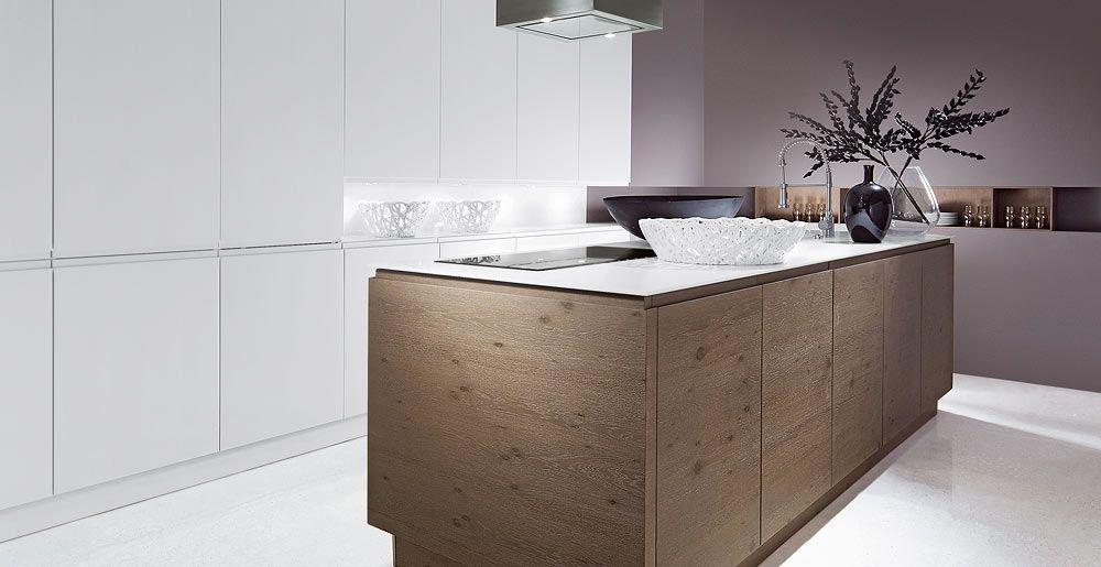Schröder Küchen Küche Angebote Arte ML bianco, Arte FA loam - moderne schroder kuchen