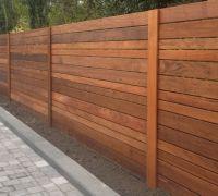 Image of: Horizontal Fence Panels Style | Secret Garden ...
