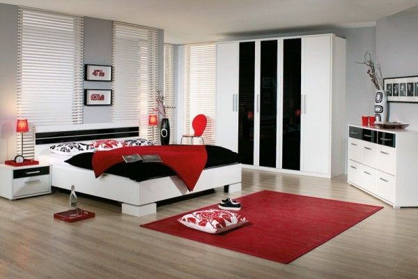 Modern Bedroom Ideas with White Furniture Sets for Single Women - women bedroom ideas