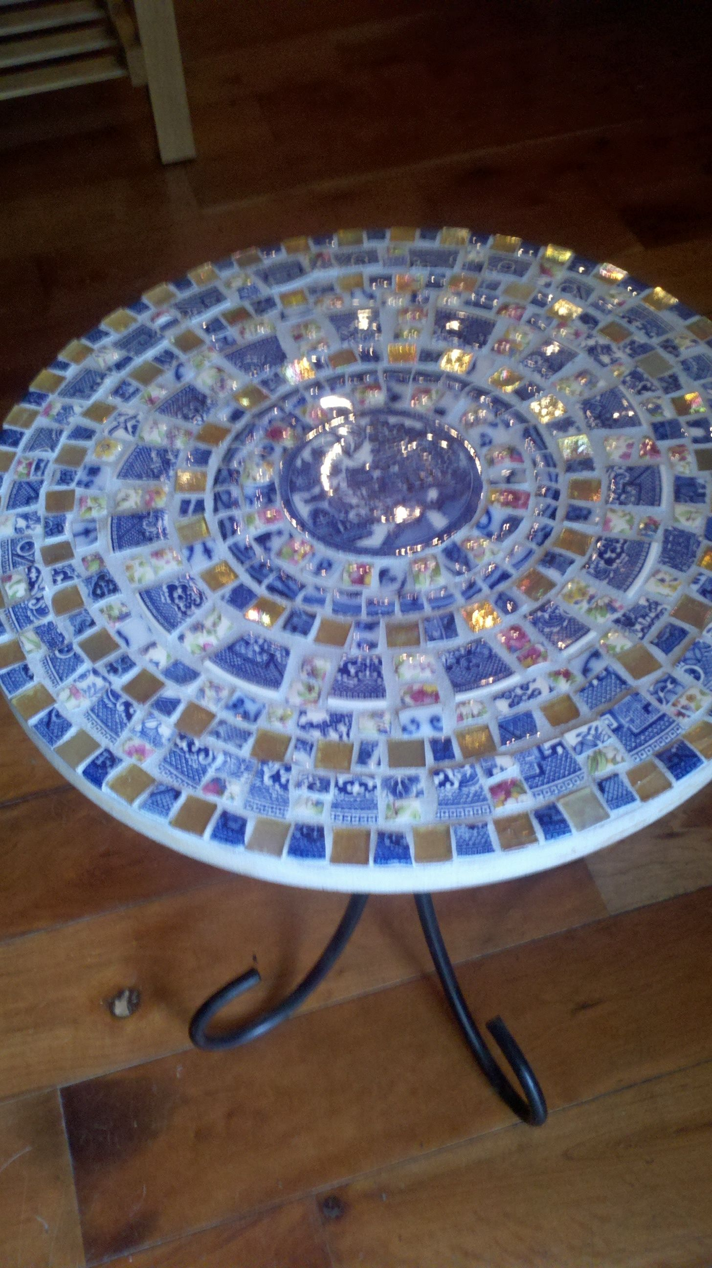 Keramikfliesen Selber Machen Mosaic End Table Diy Mosaik Pinterest Mosaik