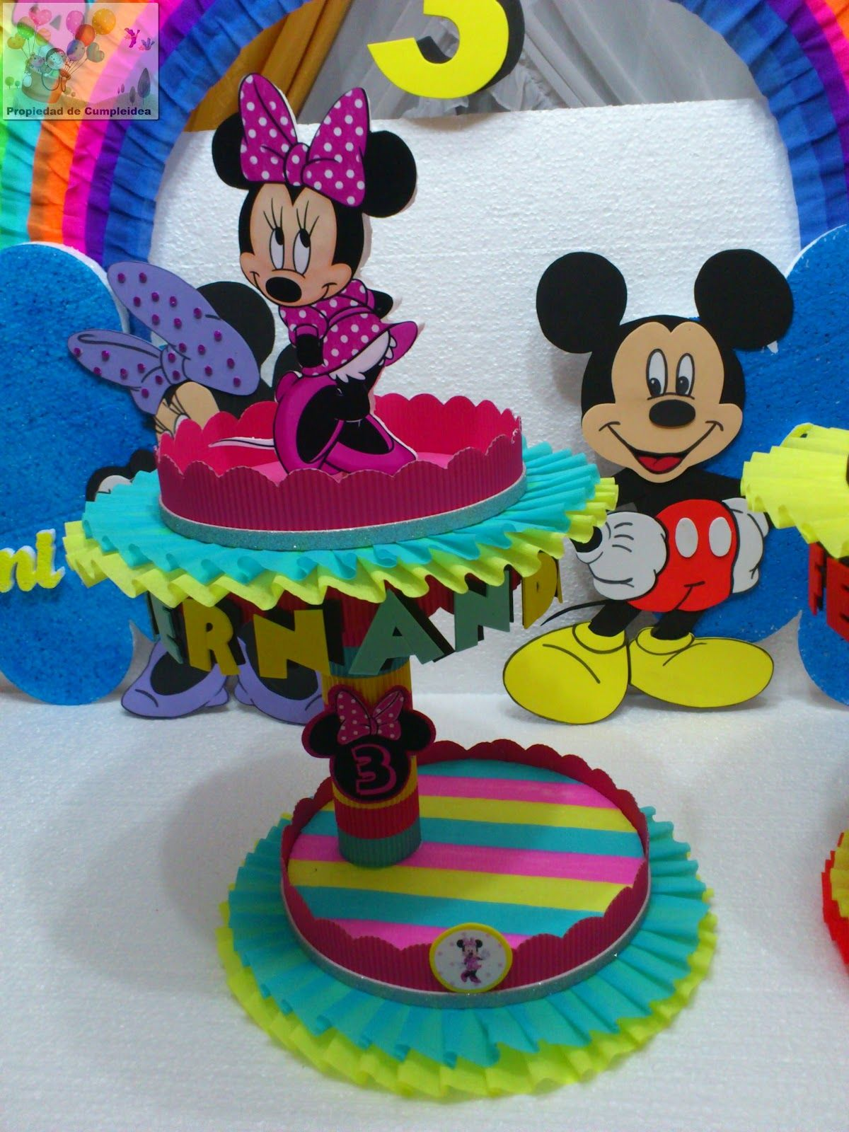 Decoraciones Infantiles De Mickey Decoraciones Infantiles Minnie Y Mickey Mouse