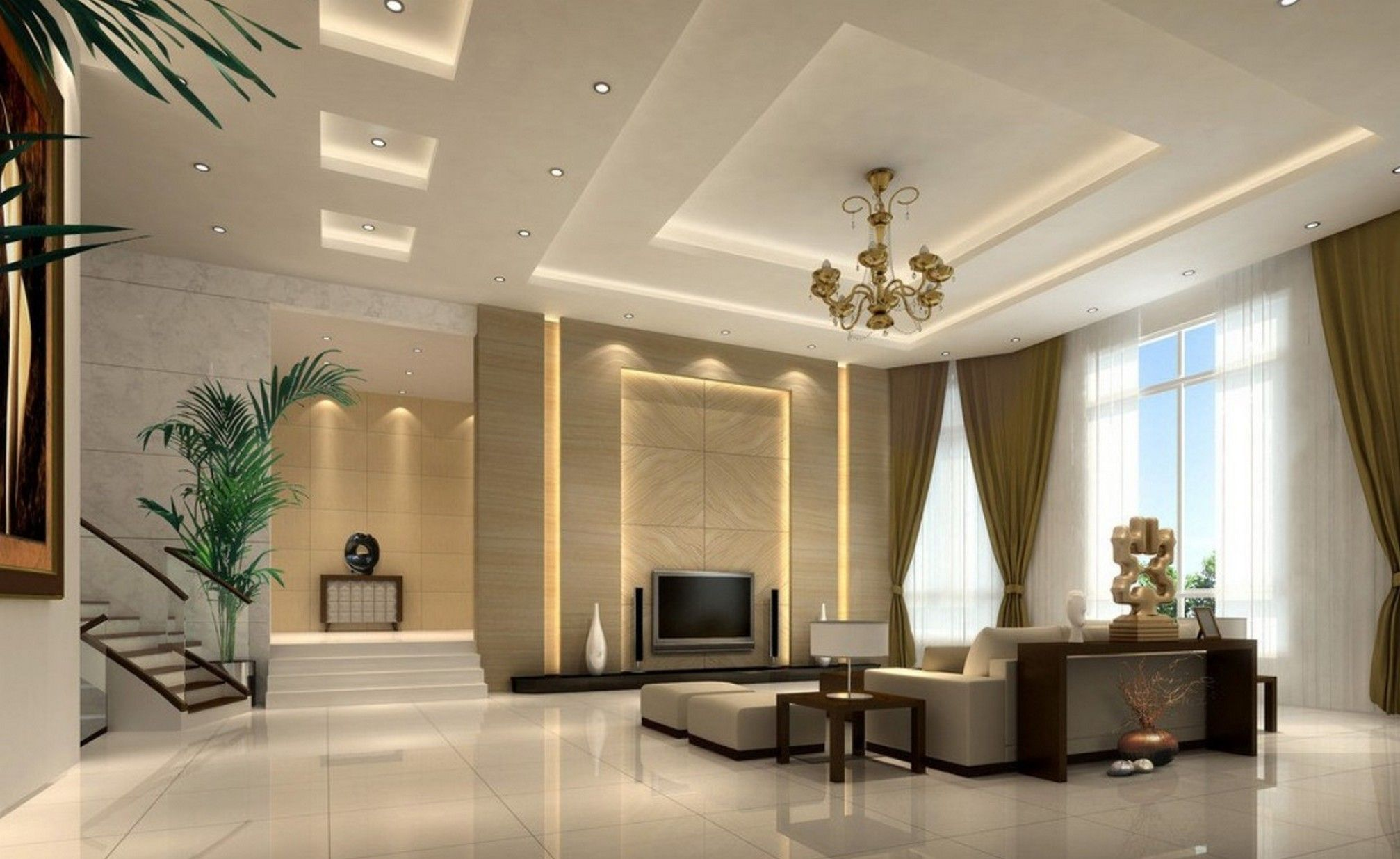 Im Wohnzimmer It S All About Interior Pinterest Living Room Gypsum Board Ceiling Design Ideas Google Search Kahawa