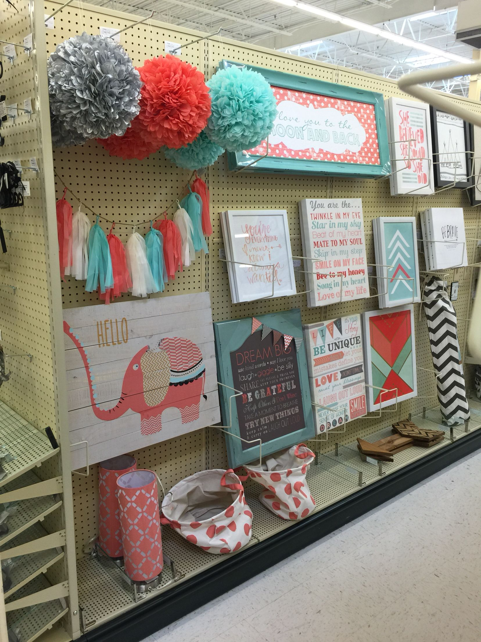 Room Decorative Items Mint And Coral Decorations Hobby Lobby J 39s Nursery Room