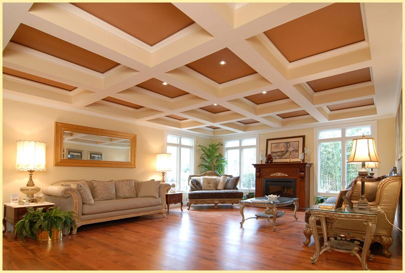 17+ Images About Tilton Coffered Ceilings On Pinterest | Moldings