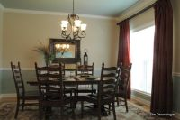paint colors for dining room with chair rail | dining room ...
