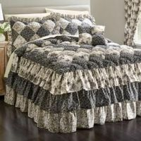 Alexis Puff Top Printed Bedspread image | 2 FURNISH: Z ...