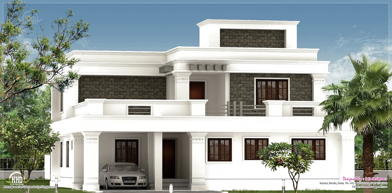 flat roof home design indian house plans beautiful house plans - Homes Design In India