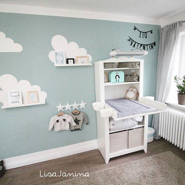 Babyzimmer #Wolken #Bilderleiste Babies Pinterest Cloud - ikea online babyzimmer