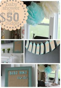 Best 25+ Baby shower ideas on a budget ideas on Pinterest ...