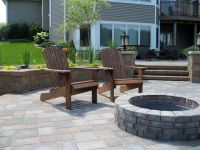 Outdoor Living. Versa-Lok Retaining Wall, Fire Pit, Willow ...