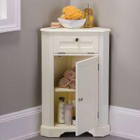 Weatherby Bathroom Corner Storage Cabinet | Corner storage ...