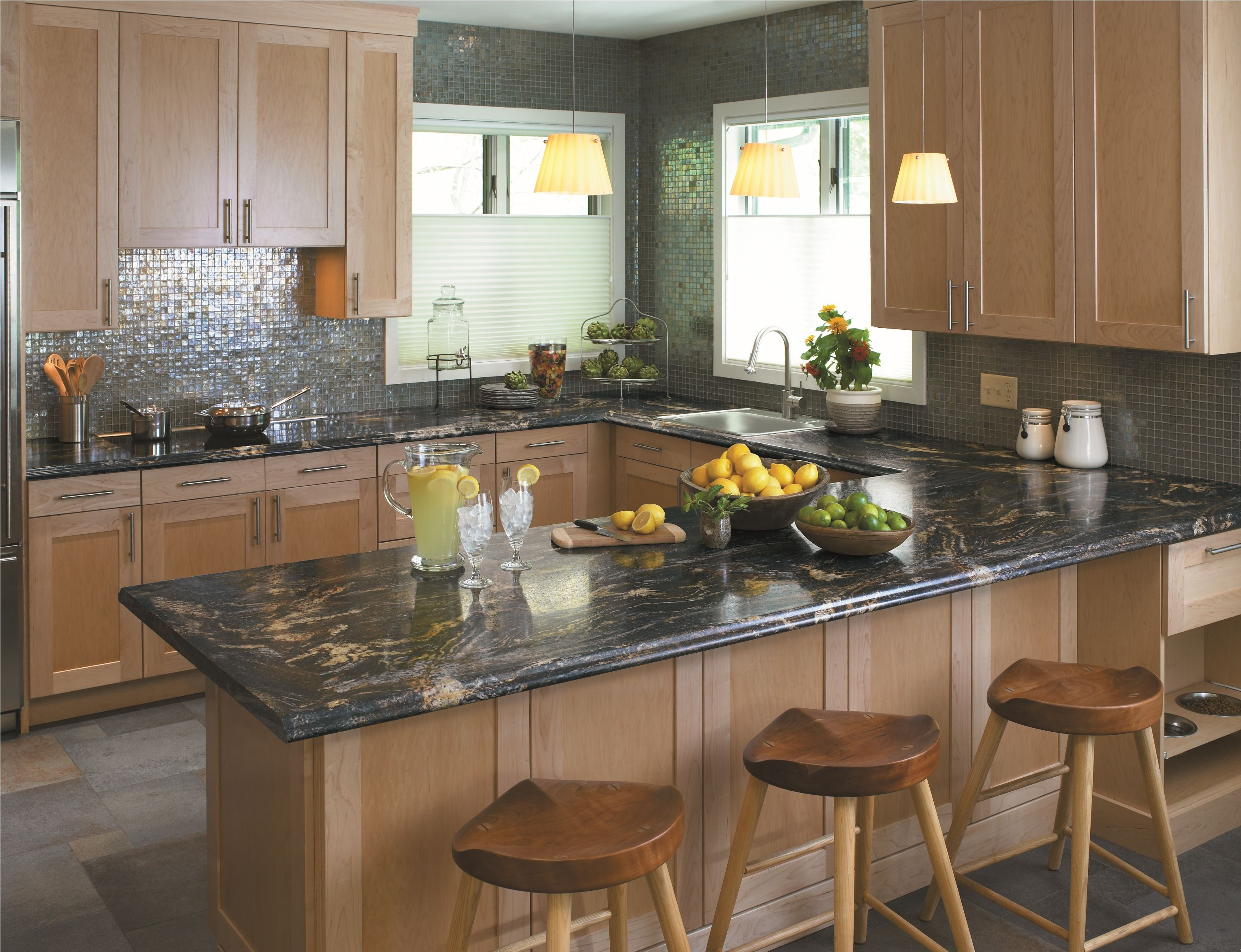 Discount Granite Countertops Nj 3467 Blue Storm Interiordesign Kitchen Countertop