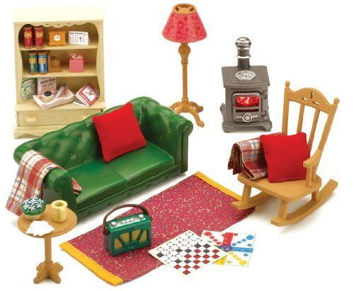 Sylvanian Families Cosy Living Room Furniture, http\/\/wwwamazon - amazon living room furniture
