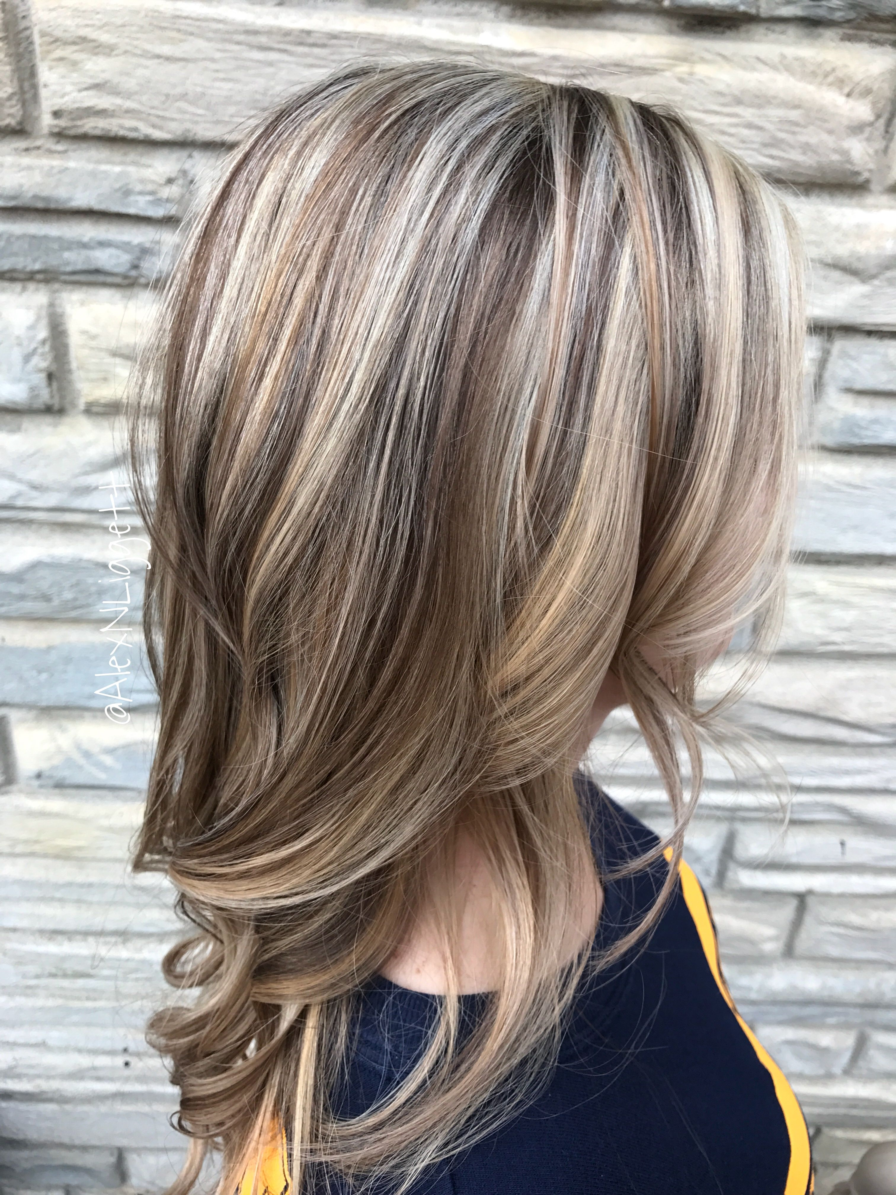 Highlights Blond Blonde Highlights And Light Brown Lowlights Http Noahxnw
