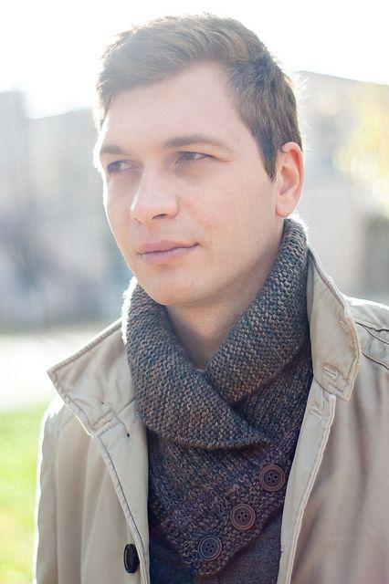 great unisex shawl collar button cowl Ravelry: imni's