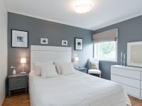 White Frames On Grey Wall | Bedroom Ideas | Pinterest ...